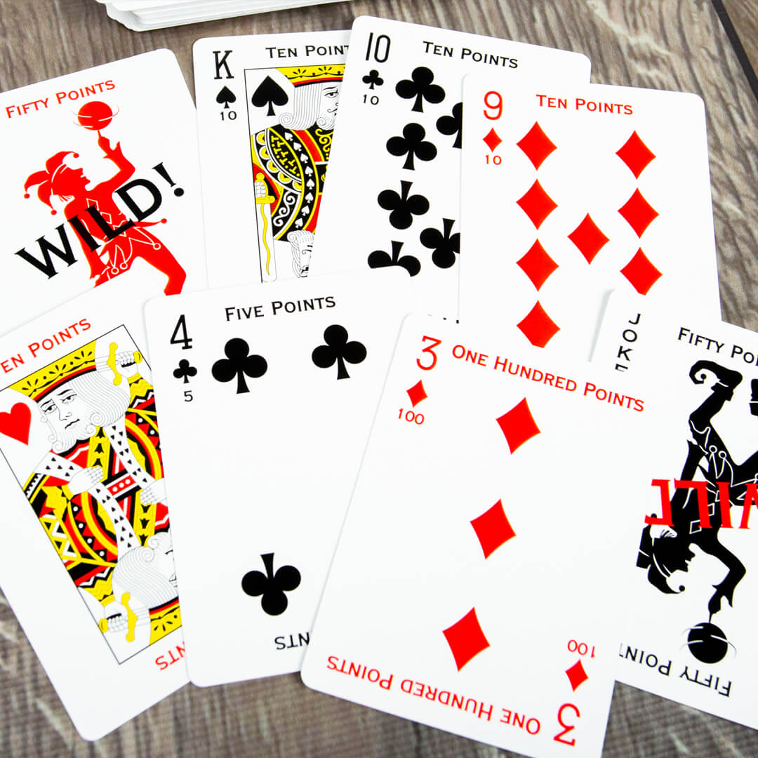 Custom Canasta Playing Cards
